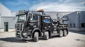 Mit dem Mercedes-Benz Bergefahrzeug schleppen wir Lkws aller Größen ab. Abschleppdienst für Passau und Vilshofen
