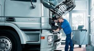 Service für Lkws als Gasfahrzeug von Paul. Stützpunkte in Passau und Vilshofen