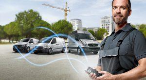 Mit Mercedes Me Ihr Handy mit dem Transporter verbinden. Ihr Stützpunkt in Passau und Vilshofen