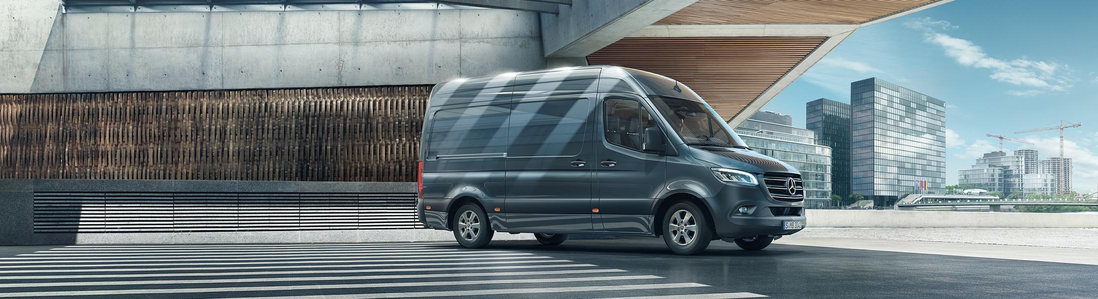Der neue Mercedes-Benz Sprinter 2018 - Jetzt im Autohaus Paul Passau bestellen und kaufen